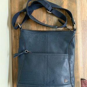 The SAK. Crossover bag. Navy genuine leather